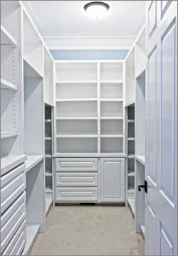 Professionally Home Organized Closet