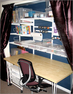 Great Kids Room Art Closet Designed By A Closet Organizing Service