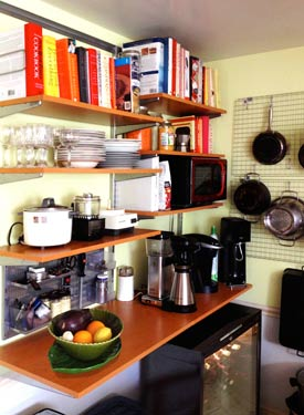 A recent kitchen organization by choas commandos