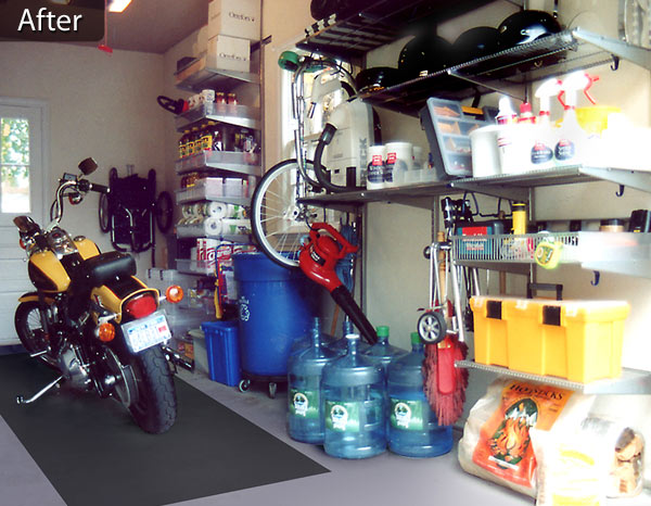 maximize storage shelving aided garage with normangarage organizer after entry blog lockers service organization