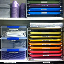 Professional Office Organizers Medical Exam Room Trays And Supplies  Professionally Organized
